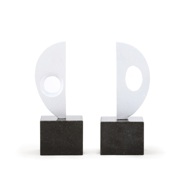 Reflection Statue Bookends