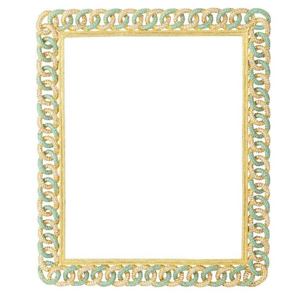 "GOLD CHANDLER 8"" x 10"" FRAME"