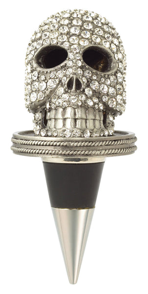 SKULL BOTTLE STOPPER