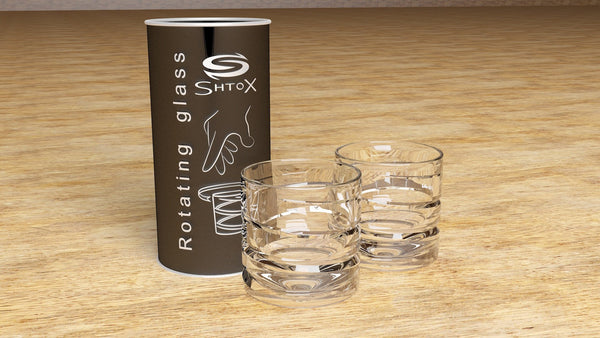 Shtox Rotating SHOT Glasses 002/SB