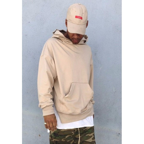 The French Terry Everyday Hoodie - Nude - DVCN Maison