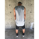 The Grey Mesh Hi Low Tank - DVCN Maison