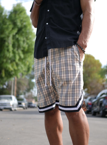 London Plaid Ball Shorts - DVCN Maison