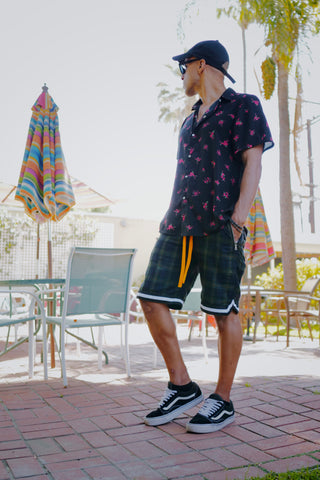 Greenboro Plaid Shorts - DVCN Maison
