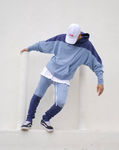 The Moto Hoodie - UNC North Carolina Blue - DVCN Maison