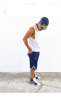 The Lightweight Mesh Ball Shorts w/ Zipper Pockets - Navy Blue - DVCN Maison