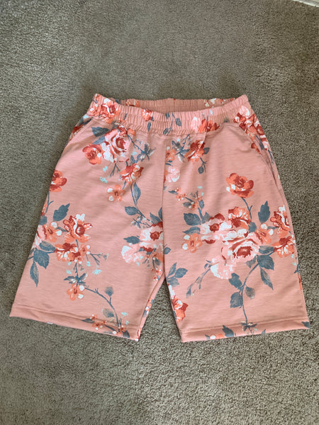 Peach Rose Shorts - DVCN Maison