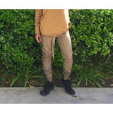 Olive Nylon Waterproof Breathable Trackpants - DVCN Maison