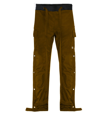 Snap Side Cargo Pants - Mauve - DVCN Maison