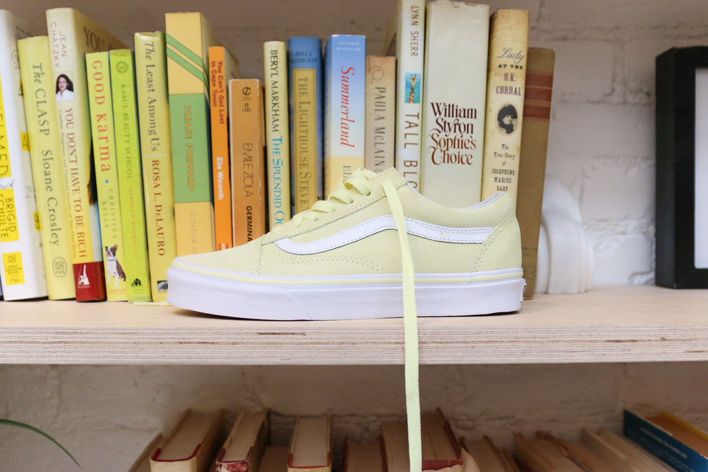 Tender Yellow Old Skool Vans