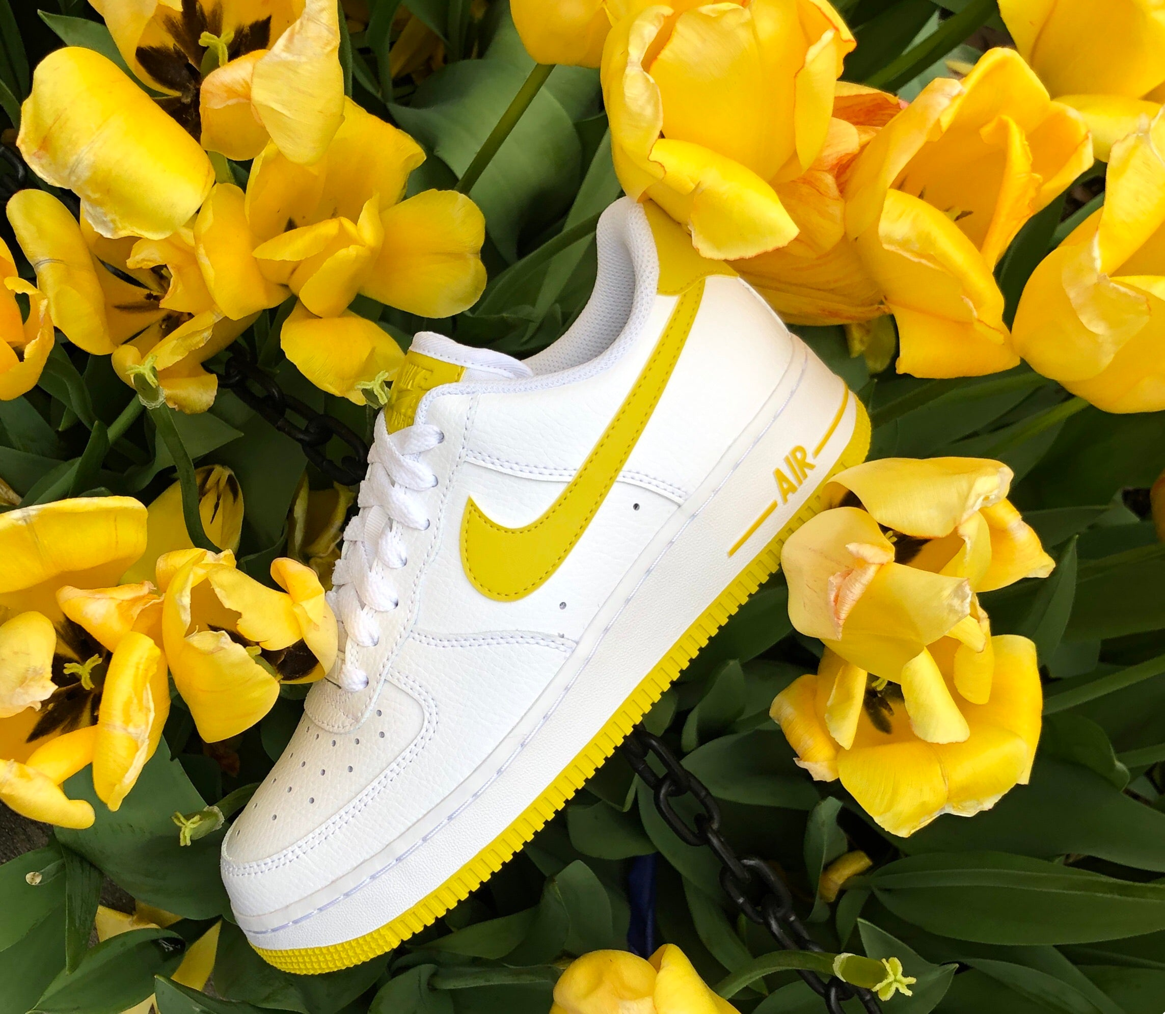 Bright Citron Air Force 1