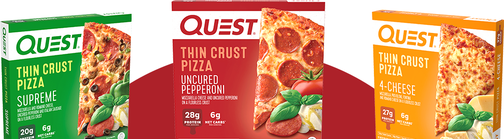 Quest Thin Crust Pizzas