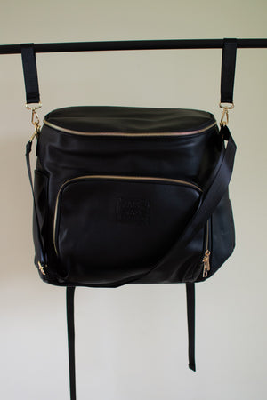 Raise Rad Littles Diaper Bag- BLACK-PRE ORDER