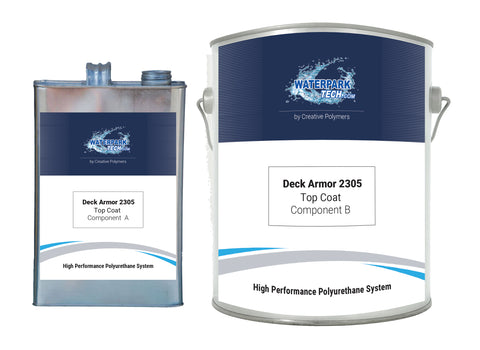 Deck Armor 2305 Top Coat - pool paint renovation kit