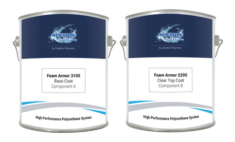 Foam Armor 3150 Base Coat - pool paint renovation kit