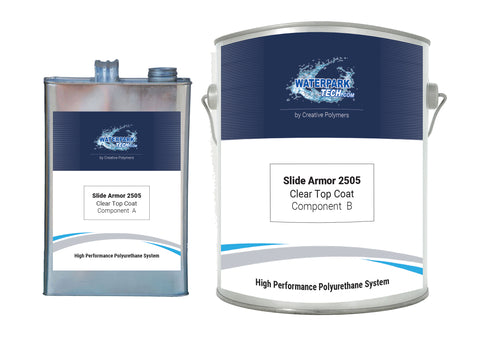 Slide Armor 2505 Clear Top Coat - pool paint renovation kit