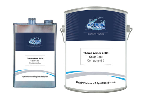 Theme Armor 2600 Color Coat - pool paint renovation kit