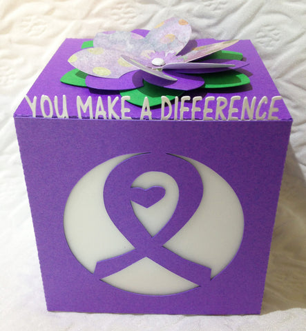 Relay For Life Gift LED Luminary - You Make a Difference