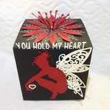 Fairy Valentine Greeting Cube