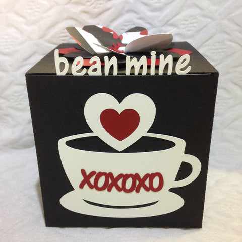 Bean Mine Valentine Greeting Cube