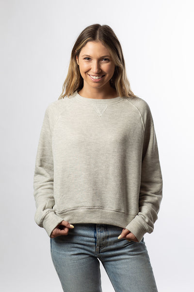 Shrunken Sweatshirt - Gray French Terry