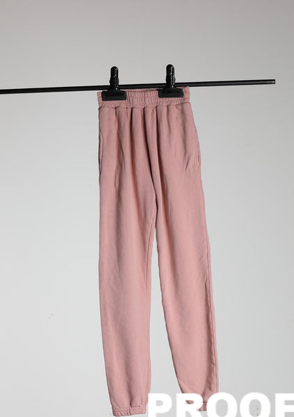 JOGGER FRENCH TERRY - BLUSH