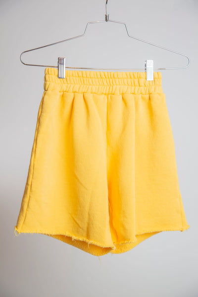 SHORTS RECYCLED WATER BOTTLE - BANANA