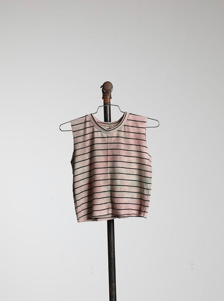 CROPPED MUSCLE - CAMO STRIPE HACCI