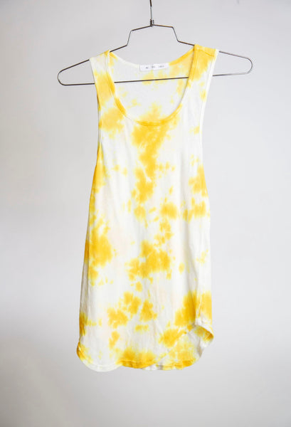BOY TANK - YELLOW CLOUD DYE