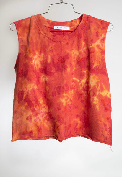 CROPPED MUSCLE - LAVA DYE