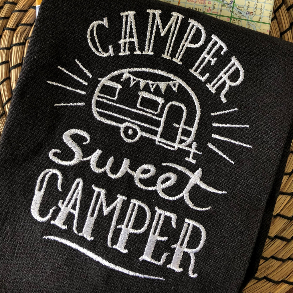 Camper Sweet Camper Tea Towel