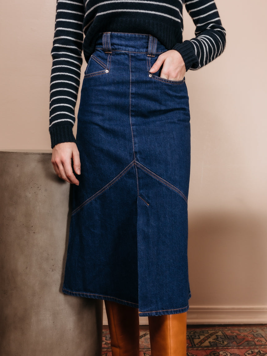 Domano Denim Skirt