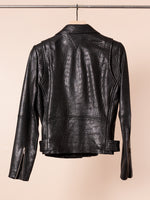 Jayne Pebbled Leather Jacket
