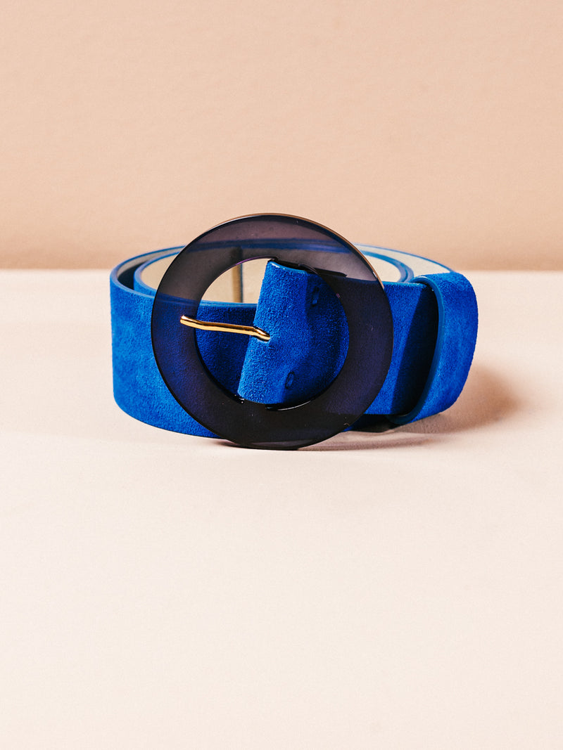 Louise Belt In Electric Blue in XS