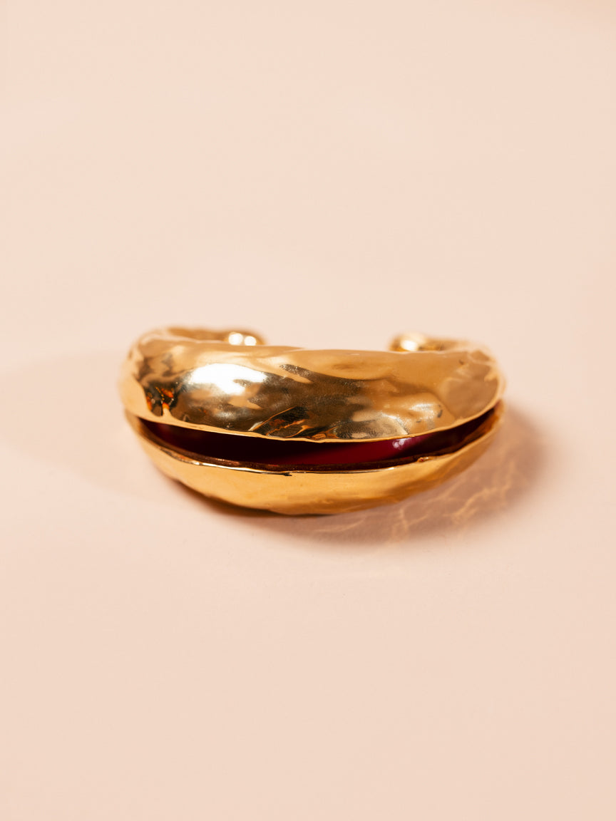 Metallic Gold Bangle