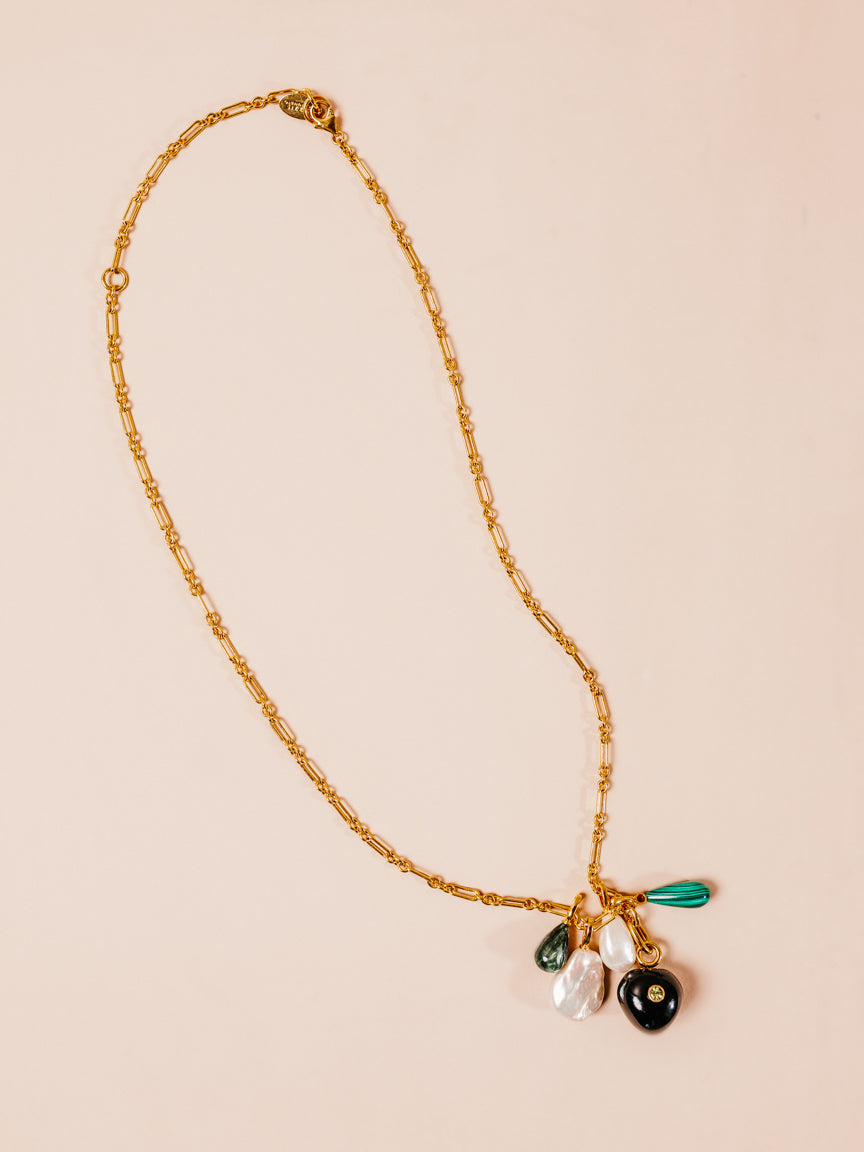 Cypress Charm Necklace