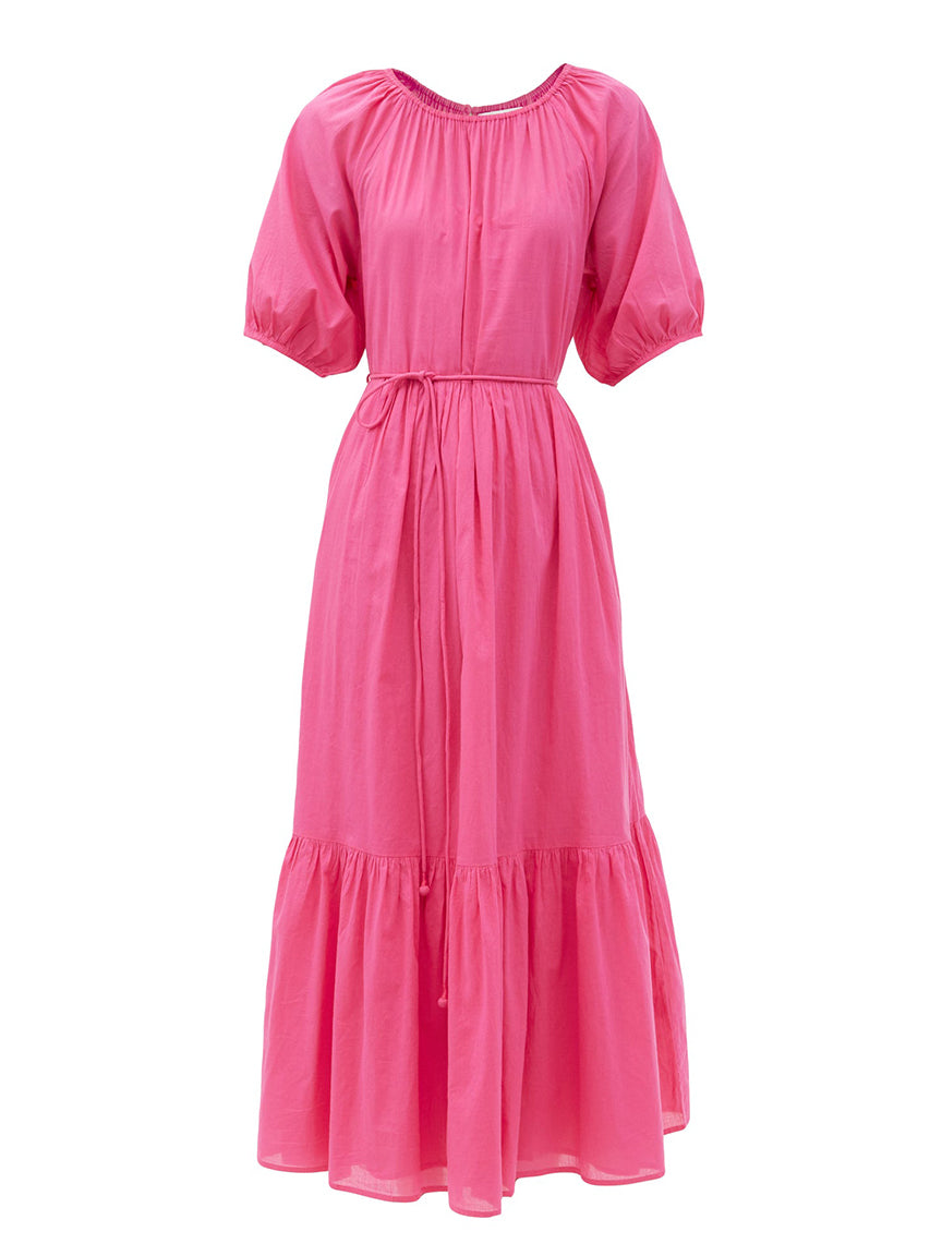 Simone Maxi Dress in Azalea