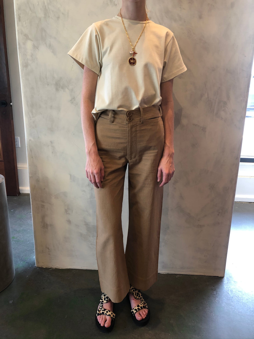 Merida Pant in Camel