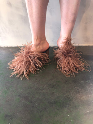Ovada Feather Mules