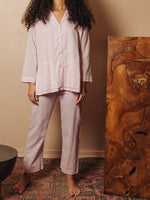 Oversized Pajama Set in Soft Lilac