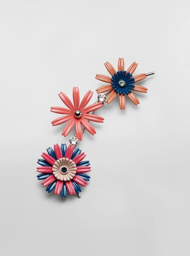 Flower Metal Brooch