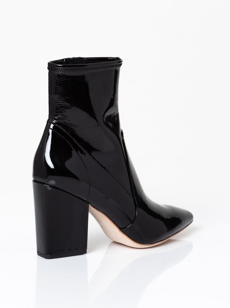Isla Patent Ankle Bootie