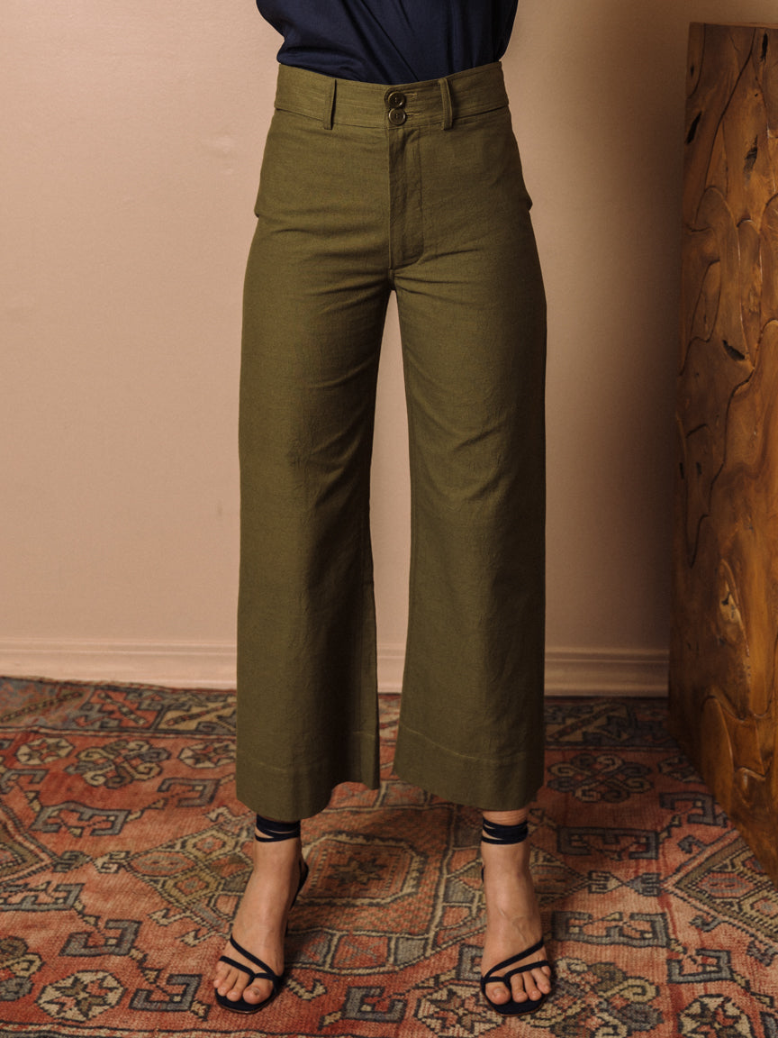 Merida Pant in Forest