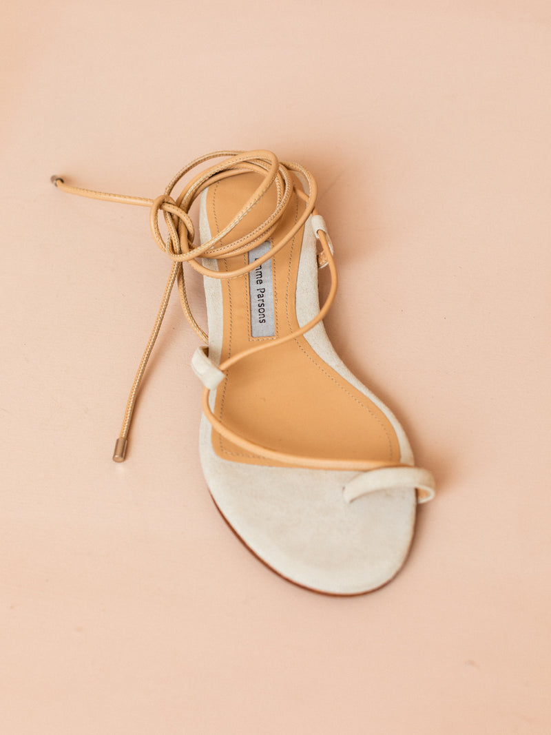 Susan Lace Up Sandal