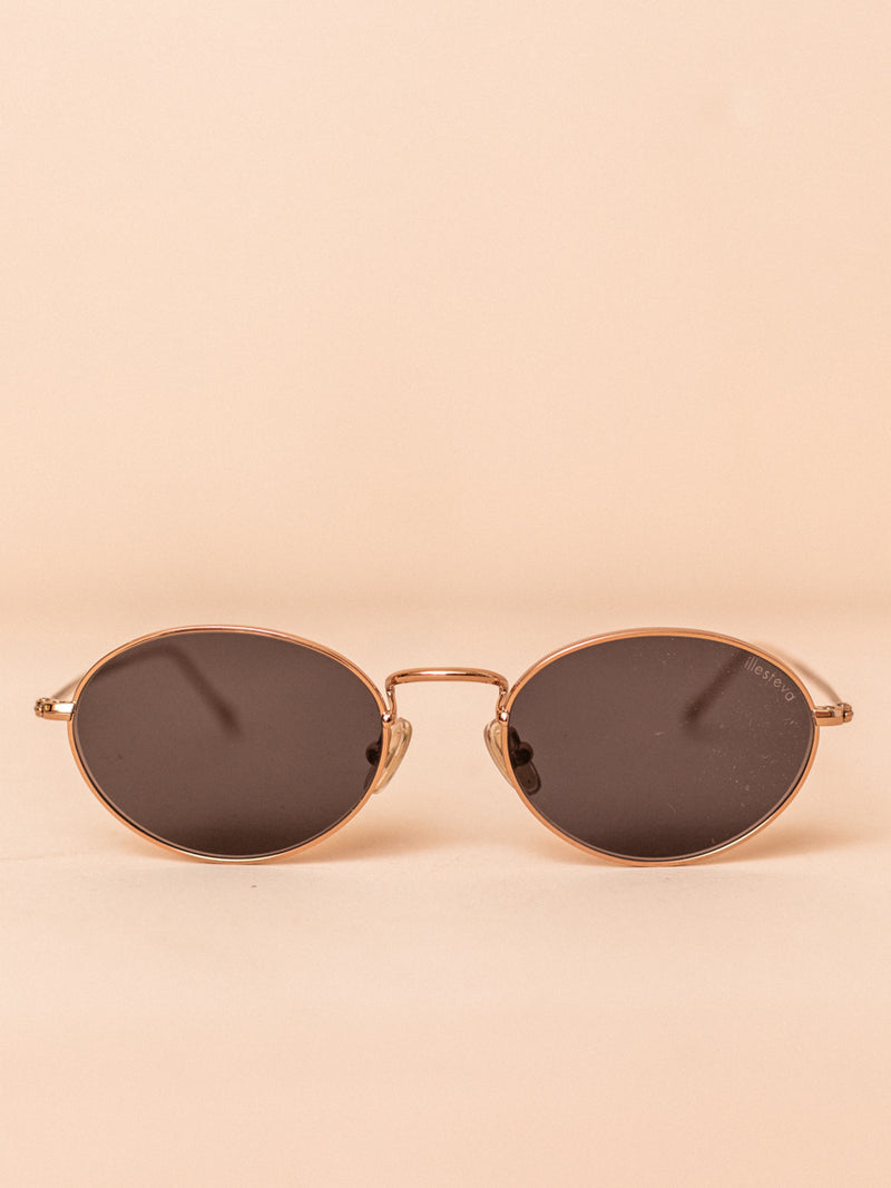 Georgetown in Rose Gold with Grey Lenses