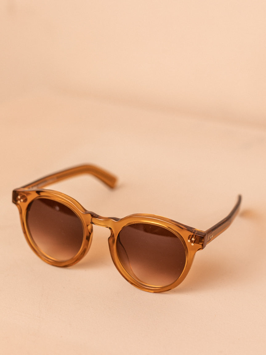 Leonard II E in Cider with Brown Gradient Lenses