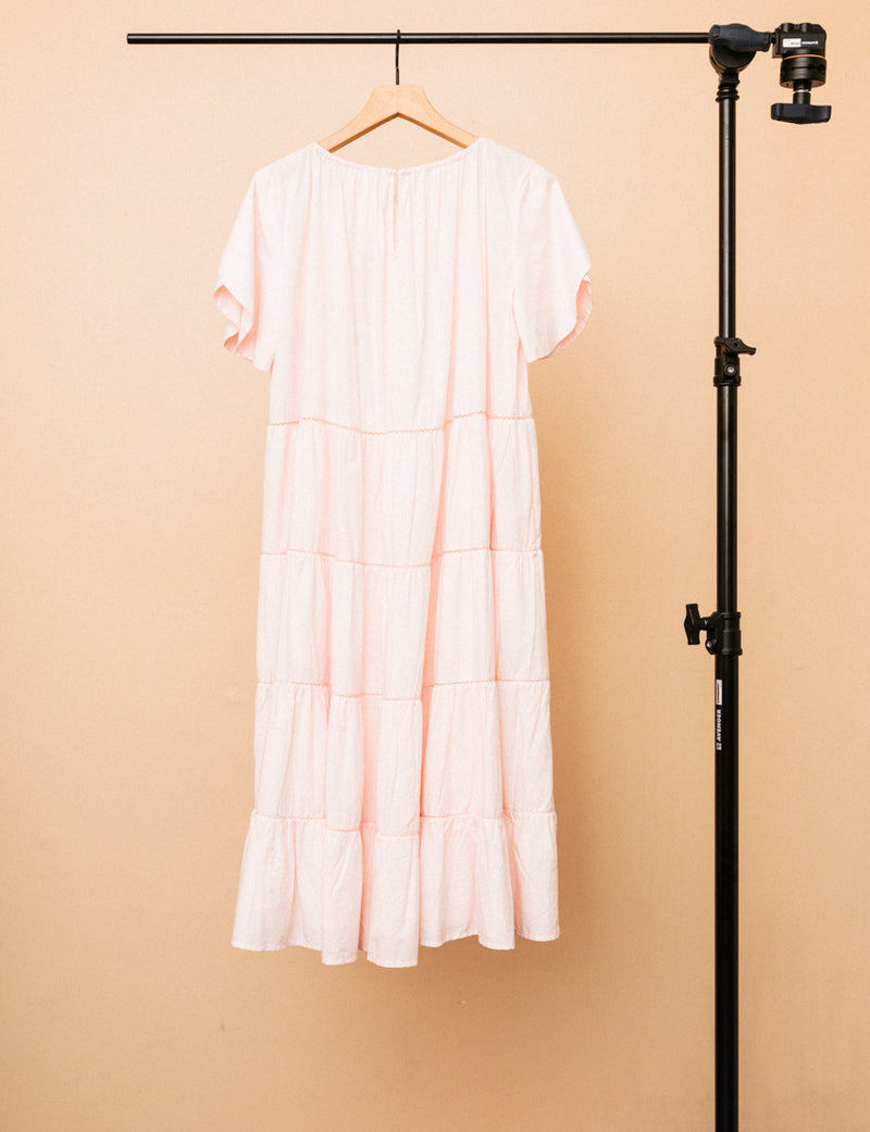 Alegre Dress in Light Pink