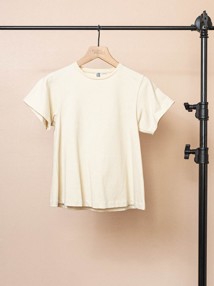 Pemba Tee in Cream