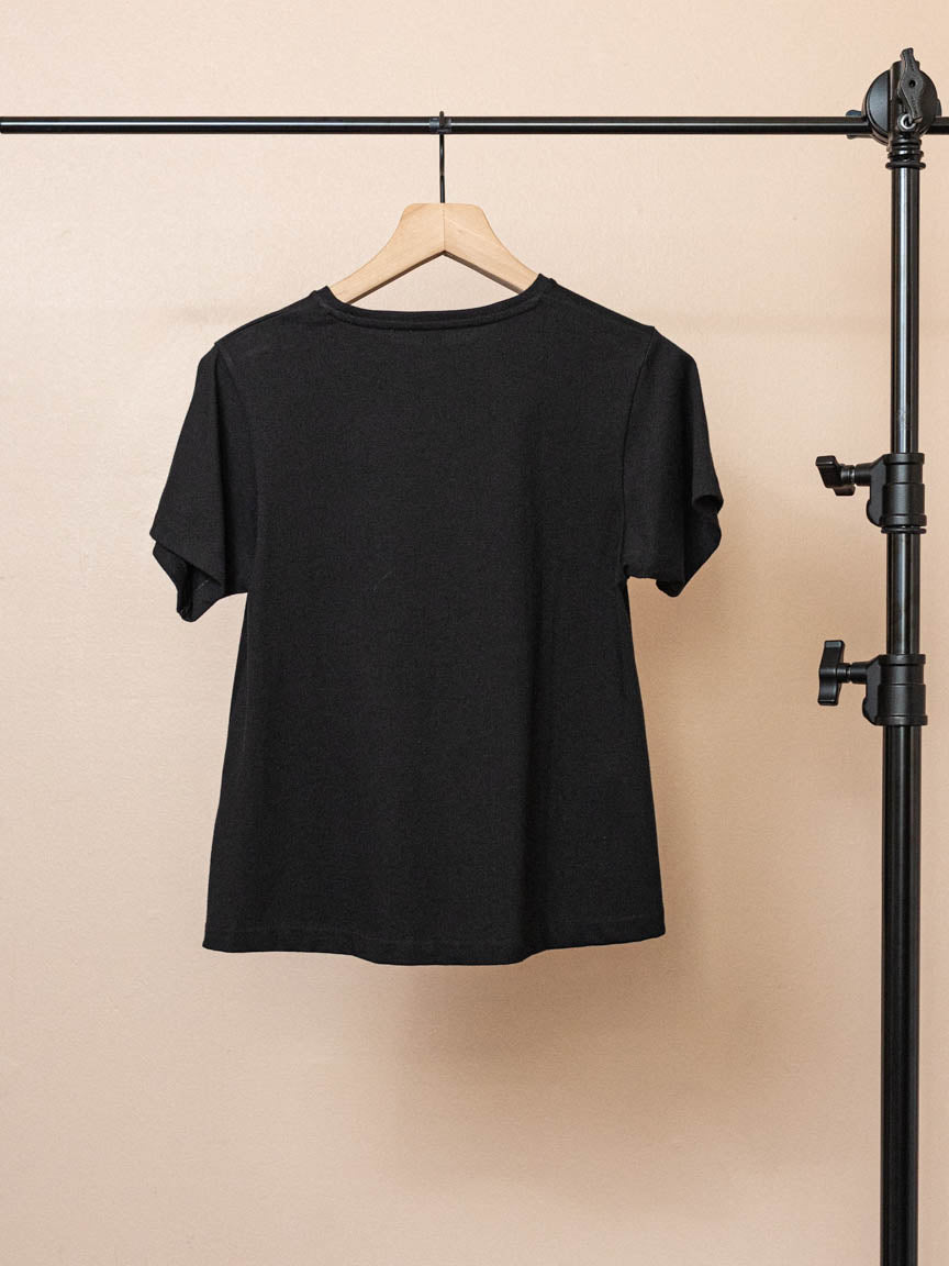 Pemba Tee in Black