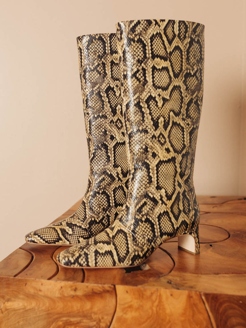 Leighton Tall Square Toe Boot